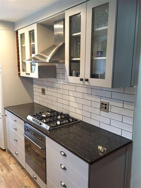 kitchen renovation completed  stellenbosch grey