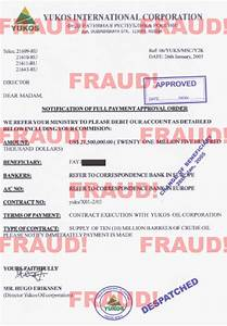 Ultrascan 419 scam documents for 419 documents