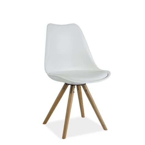 chaise dsw charles eames chaise scandinave dsw design eames 4 pieds bois blanc