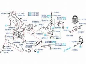 Subaru Forester Flange Nut  Suspension  Front  Engine