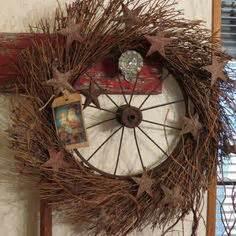 Primitive Wreaths on Pinterest