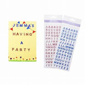 adhesive gem letters blue jewels from crafty crocodiles uk With adhesive letters