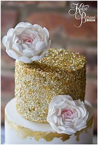 The Master Cakesmith Wedding Cake Shoot: Floral and sparkles! » Katie Byram Photography