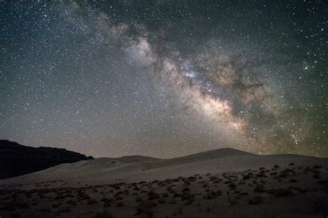Night Sky Eureka Dunes Death Valley National Park