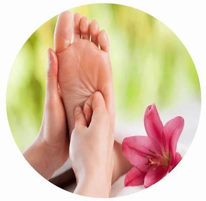 Spa Massage Foot Nail Skin Salon Clipart