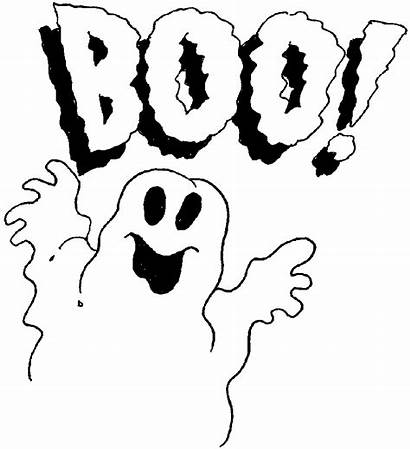 Coloring Halloween Pages Ghost