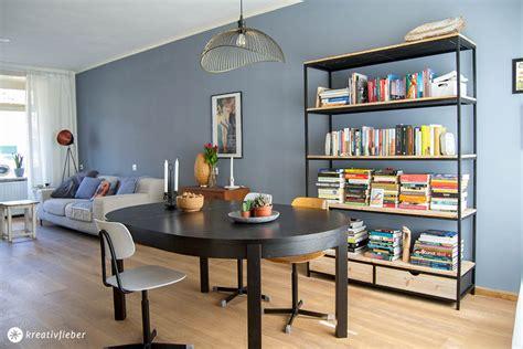 blaue wand wohnzimmer maikes neues wohnzimmer kreativfieber
