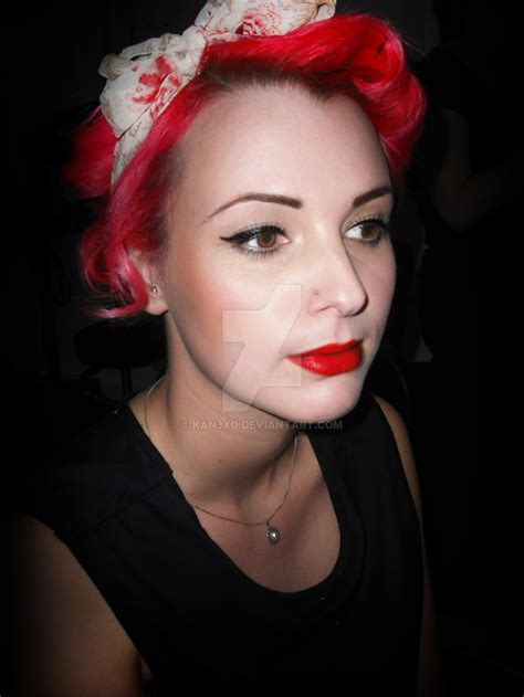 1940s hair and makeup styles 1940s makeup and hair by kan3xo on deviantart 5273