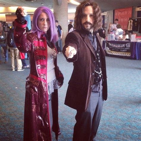 Tonks And Sirius Taught Us Defense Against The Cosplay