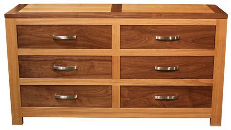 commode en bois de commode 6 tiroirs ch 234 ne noyer naturel bois 100 massif