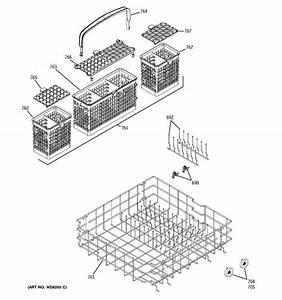 Ge Gld6710n00ss Dishwasher Parts