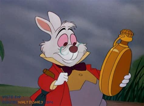 Conejo Blanco de Alicia en el País de las maravillas