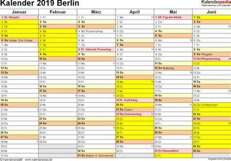 jahreskalender mit schulferien berlin kalender plan