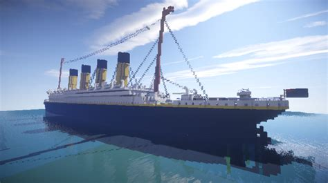 Titanic Boat Builder by Rms Titanic Download Minecraft Project