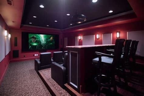 home theater room paint color design remodel decor and ideas page theater