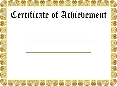 certificate templates blank blank certificate templates kiddo shelter