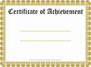 Blank Certificate Templates | Kiddo Shelter | Blank ...