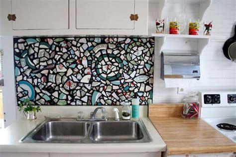 diy tile backsplash kitchen 24 low cost diy kitchen backsplash ideas and tutorials
