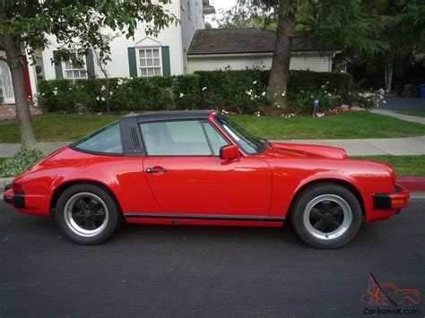 1986 porsche targa interior 1986 porsche 911 targa 21 000 miles red greybeige leather1