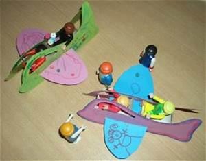 Bastelideen Sommer Kindergarten : flugzeug f r kleine passagiere basteln im ~ Frokenaadalensverden.com Haus und Dekorationen