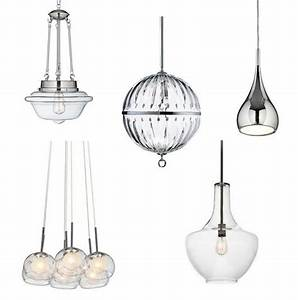 Kitchen pendant lighting lamps plus for Glass pendant lighting for kitchen