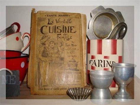 vieux livre de cuisine cuisine de famille le bazar de picoteuse