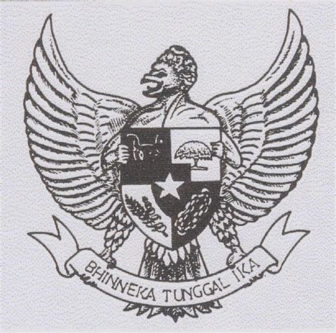 sejarah garuda pancasila lambang negara indonesia sistem