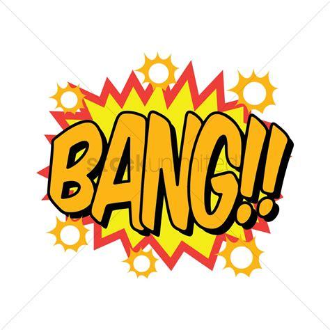 Comic Effect Bang Vector Image Stockunlimited