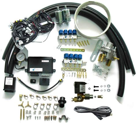 methane cng multipoint sequential injection system conversion kit for v8 efi car ebay