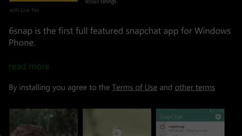 snapchat for windows phone microsoft removes all snapchat clients for windows phone