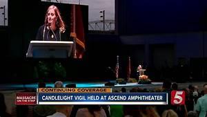 Nashville Honors Las Vegas Shooting Victims At Vigil - YouTube