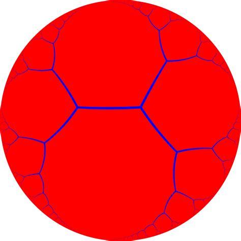 pentagon tiling hyperbolic plane tilings in hyperbolic plane