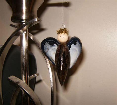 mussel shell angel ornament allfreechristmascraftscom