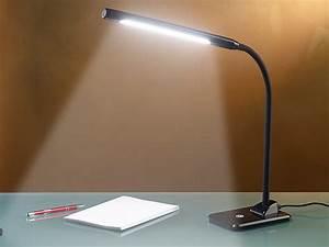 Pendelleuchte Für Langen Tisch : lunartec tisch leselampe led schreibtischlampe 7 w mit ~ Michelbontemps.com Haus und Dekorationen