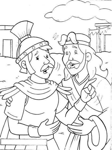 coloring page centurion sunday school coloring pages 535 | 8a7f6362895a77130229a95ae38ddc76