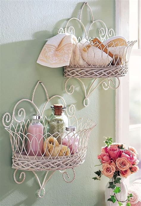 decoration murale pour salle de bain 26 adorable shabby chic bathroom d 233 cor ideas shelterness