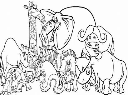 Coloring Zookeeper Zoo Printable Pages Animal Getcolorings