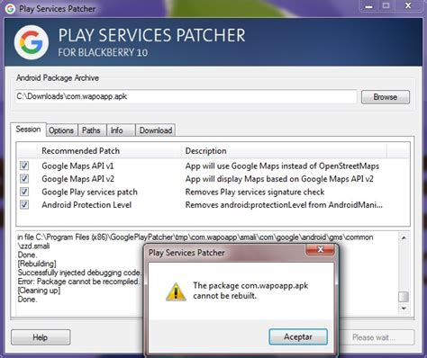 how to patch android apps depending on maps and play services page 98