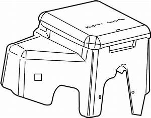 Gmc Sierra 2500 Hd Fuse Box Cover  Junction Block Cover