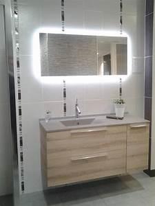 salle de bain With salle de bain meuble bois clair