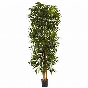 Nearly Natural 7.5 ft. Phoenix Palm Tree-5406 - The Home Depot