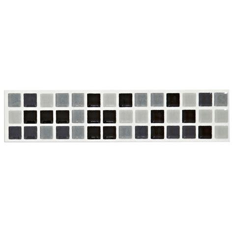 mini mosaic black white mosaic ceramic border tile