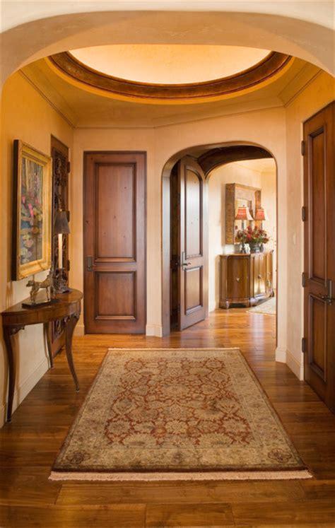 entry hallway mediterranean entry minneapolis