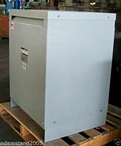 3f3y045st Siemens 45 Kva 3 Phase Dry Type Transformer 480
