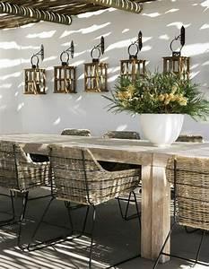 Table Resine Bois : emejing table de jardin resine et bois contemporary awesome interior home satellite ~ Teatrodelosmanantiales.com Idées de Décoration