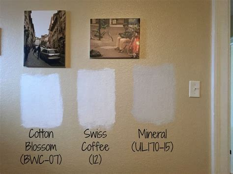 Every creamy white wall in the home is swiss coffee, and we used it on the cabinetry and. The best Behr White paint colors, Neutral paint colors, Cotton Blossom, Swiss Coffee, Mineral in ...