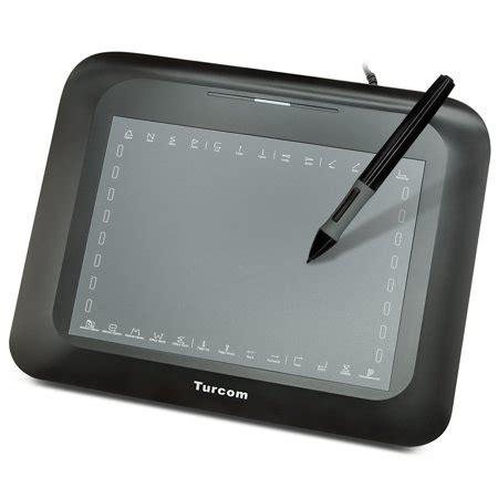 turcom graphic tablet drawing tablets  penstylus