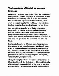 The Importance Of English Essay University Of Richmond Mfa Creative  Importance Of Eating Healthy Food Essay Sample