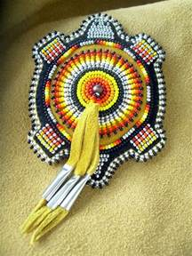 Native American Beaded Turtle Patterns