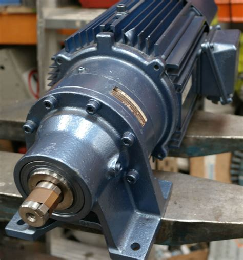 Electric Motor Gearbox by Sumitomo Cyclo 1 5kw Electric Motor Gearbox Drive